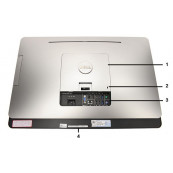 All In One DELL OptiPlex 9010, 23 Inch Full HD, Intel Core i5-3570s 3.10GHz, 4GB DDR3, 250GB SATA, Webcam, DVD-RW, Grad B, Second Hand All In One