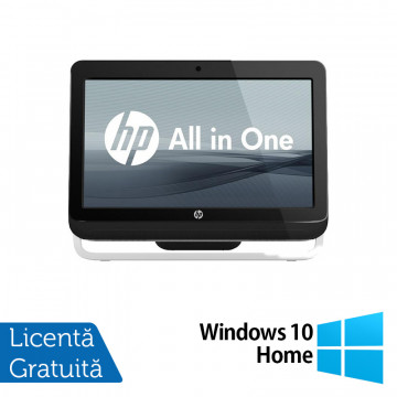 All In One HP Pro 3520, 20 Inch, Intel Core i3-3220 3.30GHz, 4GB DDR3, 500GB SATA, DVD-RW + Windows 10 Home, Refurbished All In One