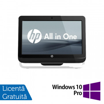 All In One HP Pro 3520, 20 Inch, Intel Core i3-3220 3.30GHz, 4GB DDR3, 500GB SATA, DVD-RW + Windows 10 Pro, Refurbished All In One