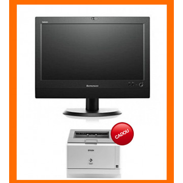 CADOU -  All In One Refurbished All In One LENOVO M72z 20 inch 1600x900, Intel Core i3-3220 3.30GHz, 8GB DDR3, 120GB SSD, DVD-RW + Windows 10 Pro All In One