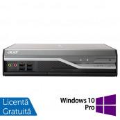 Calculator Acer Veriton L4520G USFF, Intel Core i3-3210 3.20GHz, 4GB DDR3, 500GB SATA + Windows 10 Pro, Refurbished Calculatoare Refurbished