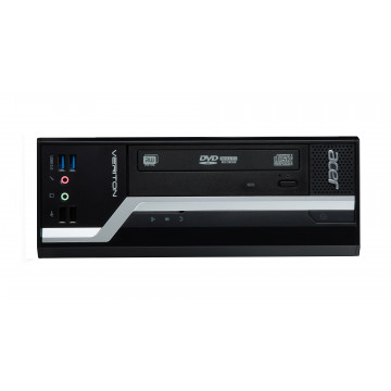 Calculator Acer Veriton X4630G SFF, Intel Celeron G1840 2.80GHz, 8GB DDR3, 500GB SATA, DVD-ROM, Second Hand Calculatoare Second Hand