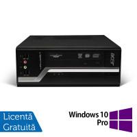 Calculator Acer Veriton X2611G, Intel Pentium G2030 3.00GHz, 4GB DDR3, 500GB SATA, DVD-RW + Windows 10 Pro