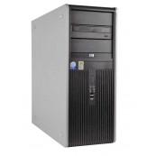 Calculator HP Compaq DC7900 Tower, Intel Core2 Duo E7500 2.93GHz, 4GB DDR2, 250GB SATA, DVD-ROM, Second Hand Calculatoare Second Hand