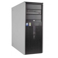 Calculator HP Compaq DC7900 Tower, Intel Core2 Duo E8500 3.16GHz, 4GB DDR3, 160GB SATA, DVD-RW