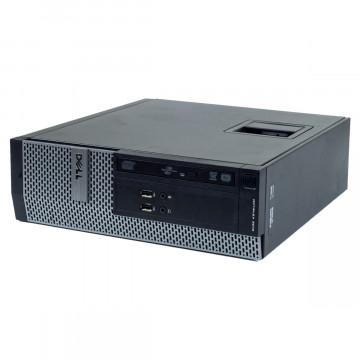 Calculator DELL 3010 SFF, Intel Core i3-4130 3.40GHz, 4GB DDR3, 500GB SATA, DVD-ROM, Second Hand Intel Core i3