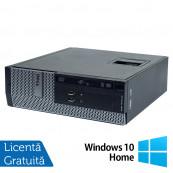 Calculator DELL 3010 SFF, Intel Core i5-3470 3.20GHz, 8GB DDR3, 250GB SATA + Windows 10 Home, Refurbished Calculatoare Refurbished