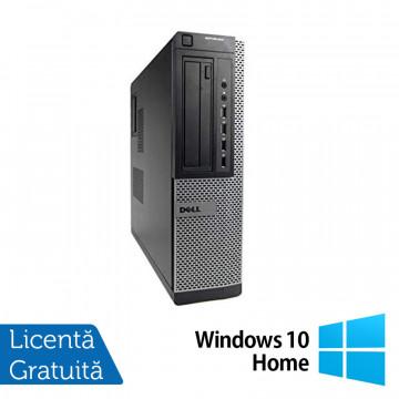 Calculator Refurbished Dell Optiplex 7010 Desktop, Intel Core i3-2100 3.10 GHz, 4GB DDR 3, 250GB SATA, DVD-ROM + Windows 10 Home Calculatoare Refurbished