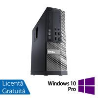 Calculator DELL OptiPlex 7010 SFF, Intel Core i3-3240 3.40GHz, 4GB DDR3, 250GB SATA + Windows 10 Pro