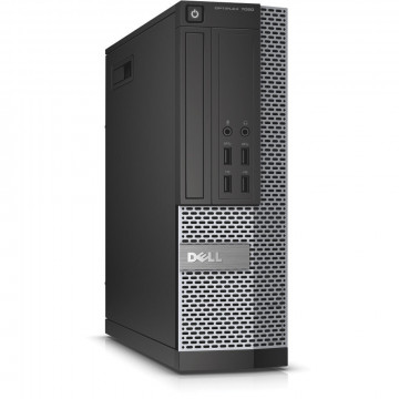 Calculator DELL OptiPlex 7020 SFF, Intel Celeron G1820 2.70GHz, 8GB DDR3, 500GB SATA, DVD-RW, Second Hand Calculatoare Second Hand