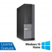 Calculator DELL OptiPlex 7020 SFF, Intel Core i3-4130 3.40GHz, 4GB DDR3, 500GB SATA, DVD-RW + Windows 10 Home, Refurbished Calculatoare Refurbished