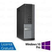 Calculator DELL OptiPlex 7020 SFF, Intel Core i5-4570 3.20GHz, 4GB DDR3, 500GB SATA, DVD-RW + Windows 10 Pro, Refurbished Calculatoare Refurbished