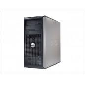 Calculator Dell 745 Tower, Intel Core2 Duo E6300 1.86Ghz, 2GB DDR2, 80GB SATA, DVD-ROM, Second Hand Calculatoare Second Hand