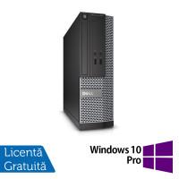 Calculator DELL Optiplex 3020 SFF, Intel Pentium G3250 3.20GHz, 4GB DDR3, 500GB SATA, DVD-RW + Windows 10 Pro