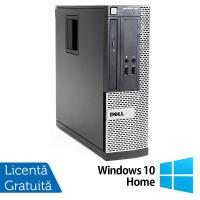 Calculator Dell OptiPlex 390 SFF, Intel Core i5-2400 3.10GHz, 4GB DDR3, 500GB SATA, DVD-ROM + Windows 10 Home