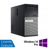 Calculator Dell OptiPlex 7010 Tower, Intel Core i3-3220 3.30GHz, 8GB DDR3, 240GB SSD, DVD-RW + Windows 10 Pro, Refurbished Calculatoare Refurbished