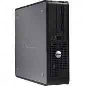 Calculator Dell 745 SFF, Intel Core 2 Duo E6300 1.86GHz, 2GB DDR2, 80GB SATA, DVD-RW, Second Hand Calculatoare Second Hand