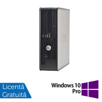 Calculator Dell 780 Desktop, Intel Pentium E5300 2.60GHz, 4GB DDR3, 320GB SATA, DVD-ROM + Windows 10 Pro