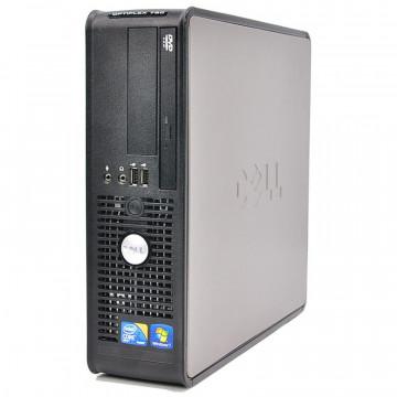 Calculator Dell OptiPlex 780 Desktop, Intel Core2 Duo E8500 3.16GHz, 4GB DDR3, 500GB SATA, DVD-RW Calculatoare Second Hand