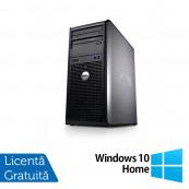 Calculator Dell 780 Tower, Intel Pentium E5300 2.60GHz, 2GB DDR3, 160GB SATA, DVD-ROM + Windows 10 Home, Refurbished Calculatoare Refurbished