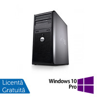 Calculator Dell 780 Tower, Intel Pentium E5300 2.60GHz, 2GB DDR3, 160GB SATA, DVD-ROM + Windows 10 Pro
