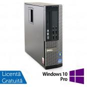 Calculator Dell OptiPlex 790 SFF, Intel Core i3-2100 3.10GHz, 4GB DDR3, 320GB SATA, DVD-ROM + Windows 10 Pro, Refurbished Calculatoare Refurbished