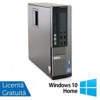 Calculator Dell OptiPlex 790 SFF, Intel Core i3-2120 3.30GHz, 4GB DDR3, 250GB SATA + Windows 10 Home