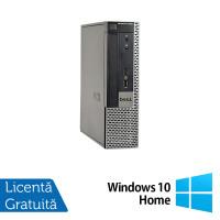Calculator Dell OptiPlex 9020 USFF, Intel Core i3-4130 3.40GHz, 4GB DDR3, 250GB SATA, DVD-ROM + Windows 10 Home