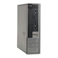 Calculator Dell OptiPlex 9020 USFF, Intel Core i3-4130 3.40GHz, 8GB DDR3, 120GB SSD, DVD-ROM