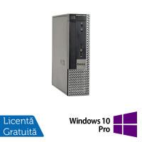 Calculator Dell OptiPlex 9020 USFF, Intel Core i5-4570s 2.90GHz, 4GB DDR3, 500GB SATA, DVD-RW + Windows 10 Pro
