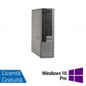 Calculator Dell OptiPlex 9020 USFF, Intel Core i5-4570s 2.90GHz, 8GB DDR3, 120GB SSD, DVD-RW + Windows 10 Pro, Refurbished Calculatoare Refurbished