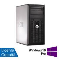 Calculator Dell OptiPlex 380 Tower, Intel Pentium Dual Core E5500 2.80GHz, 2GB DDR3, 250GB SATA, DVD-RW + Windows 10 Pro