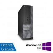 Calculator DELL OptiPlex 3010 Desktop, Intel Core i3-2100 3.10GHz, 4GB DDR3, 250GB SATA, HDMI, DVD-RW + Windows 10 Pro, Refurbished Calculatoare Refurbished