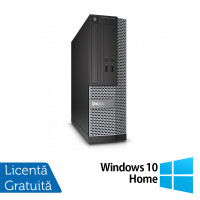 Calculator DELL Optiplex 3020 SFF, Intel Core i5-4570s 2.90 GHz, 4GB DDR3, 500GB SATA, DVD-ROM + Windows 10 Home