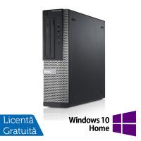 Calculator DELL OptiPlex 3010 Desktop, Intel Core i3-3220 3.30GHz, 4GB DDR3, 250GB SATA, DVD-RW + Windows 10 Pro