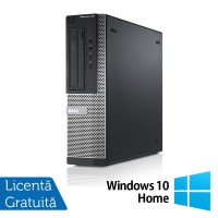 Calculator Refurbished Dell OptiPlex 390, Intel Core i3-2100, 3.10GHz, 4GB DDR3, 250GB SATA, DVD-RW, HDMI + Windows 10 Home