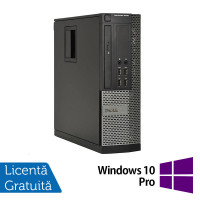 Calculator Dell OptiPlex 9010 SFF, Intel Core i3-3220 3.30GHz, 4GB DDR3, 250GB SATA, DVD-ROM + Windows 10 Pro