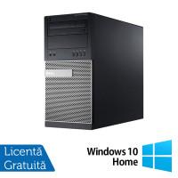 Calculator Dell OptiPlex 790 Tower, Intel Core i3-2100 3.10GHz, 4GB DDR3, 500GB SATA, DVD-RW + Windows 10 Home