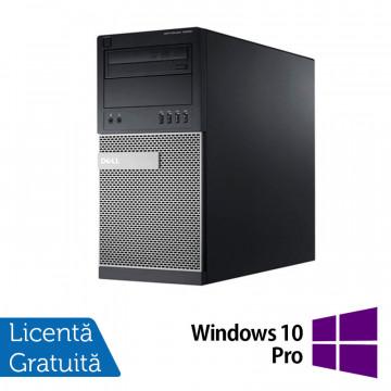 Calculator Dell OptiPlex 790 Tower, Intel Core i3-2100 3.10GHz, 4GB DDR3, 500GB SATA, DVD-RW + Windows 10 Pro, Refurbished Calculatoare Refurbished