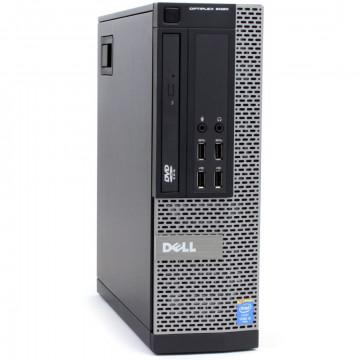 Calculator DELL OptiPlex 9020 SFF, Intel Core i5-4570 3.20GHz, 8GB DDR3, 500GB SATA, DVD-ROM, Second Hand Calculatoare Second Hand