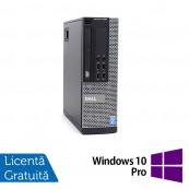Calculator DELL OptiPlex 9020 SFF, Intel Core i7-4770 3.40GHz, 8GB DDR3, 120GB SSD, DVD-RW + Windows 10 Pro, Refurbished Calculatoare Refurbished