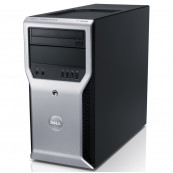 Workstation Dell Precision T1600, Intel Xeon Quad Core E3-1245 3.30GHz - 3.70GHz, 8GB DDR3, 500GB HDD,  Intel Integrated HD P3000, DVD-RW, Second Hand Workstation