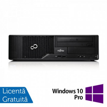 Calculator Fujitsu Esprimo E510 Desktop, Intel Pentium G640 2.80GHz, 4GB DDR3, 250GB SATA, DVD-RW + Windows 10 Pro, Refurbished Calculatoare Refurbished