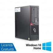 Calculator FUJITSU SIEMENS E720 Desktop, Intel Core i3-4130 3.40GHz, 8GB DDR3, 500GB SATA, Placa video Gaming AMD Radeon R7 350 4GB, DVD-RW + Windows 10 Home, Refurbished Calculatoare Refurbished