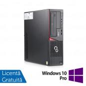 Calculator FUJITSU SIEMENS E720 Desktop, Intel Core i3-4170 3.70GHz, 4GB DDR3, 500GB SATA, DVD-ROM + Windows 10 Pro, Refurbished Calculatoare Refurbished