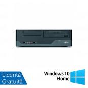 Calculator FUJITSU SIEMENS E3521, Intel Pentium E5800 3.20GHz, 4GB DDR3, 250GB SATA, DVD-RW + Windows 10 Home, Refurbished Calculatoare Refurbished