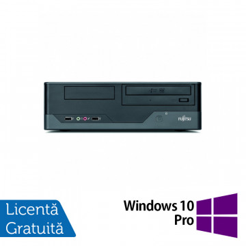 Calculator FUJITSU SIEMENS E3521, Intel Pentium E5800 3.20GHz, 4GB DDR3, 250GB SATA, DVD-RW + Windows 10 Pro, Refurbished Calculatoare Refurbished