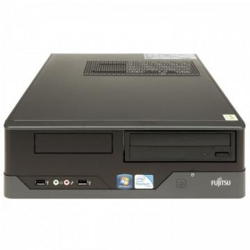 Calculator FUJITSU SIEMENS E400 SFF, Intel Core i3-2130 3.40GHz, 4GB DDR3, 320GB SATA, DVD-ROM, Second Hand Calculatoare Second Hand