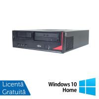 Calculator Fujitsu Esprimo E420, Intel Pentium G3220 3.00GHz, 4GB DDR3, 320GB SATA, DVD-ROM + Windows 10 Home