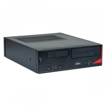 Calculator Fujitsu E520 SFF, Intel Pentium G3440 3.30GHz, 4GB DDR3, 250GB SATA, DVD-ROM, Second Hand Calculatoare Second Hand